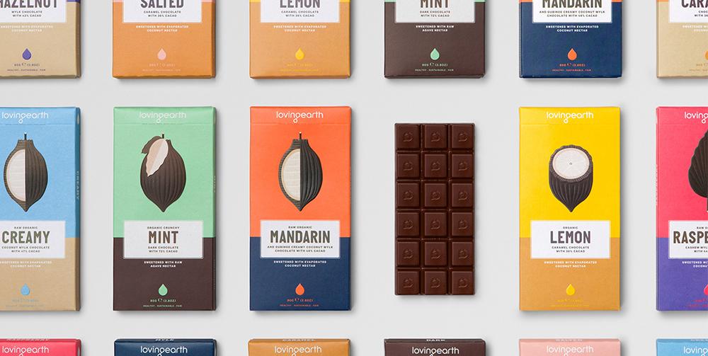 loving earth chocolate